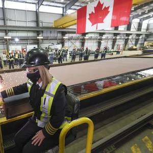 Seaspan Shipyards Begins Building Canada's New Research Ship