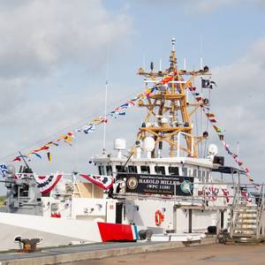 US Coast Guard Commissions Cutter Harold Miller