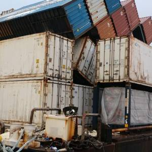 Poor Cargo Loading Led to Containers Loss off Hawaii -NTSB