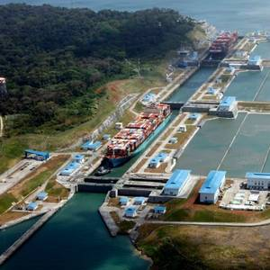 Panama Canal Sets Record Annual Cargo Tonnage