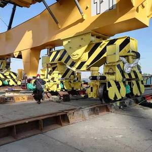 Seismic Isolation System for Pair of Quayside Container Cranes