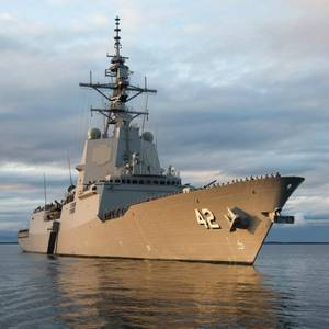 Australian Navy Commissions Destroyer HMAS Sydney