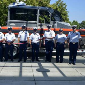 US Coast Guard Commissions New Unit in Paducah, Ky.