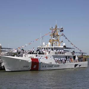 USCG Commissions Fast Response Cutter Edgar Culbertson