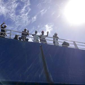 Coast Guard Rescues 10 from Disabled Cargo Ship