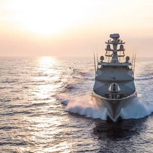 Sea Trials of Damen Mexican Navy Frigate Complete