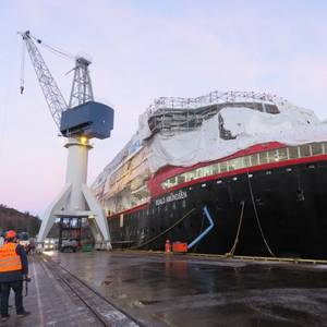 Shipbuilding: Hurtigruten Hybrid Construction Forges Ahead