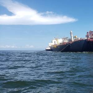 Tanker Approaches Listing FSO Nabarima to Load Crude