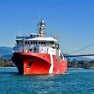 Seaspan-Built CCG Ship Heads for Sea Trials