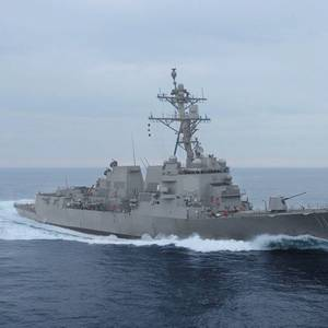 Future USS Delbert D. Black Completes Builders Trials