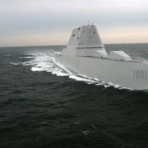 US Navy's Newest Destroyer Completes Acceptance Trials