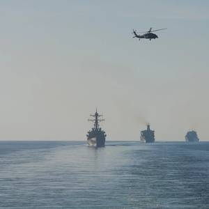 U.S. Navy Carrier Group Enters the Gulf