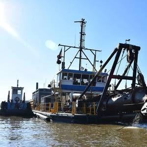 USACE Memphis District Dredging Wraps Up
