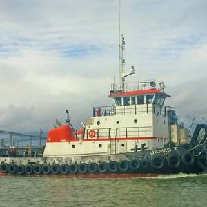 Refurbished Tug James T Ready for Work