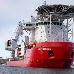 'Small Fire' Aboard Antarctic Supply Ship