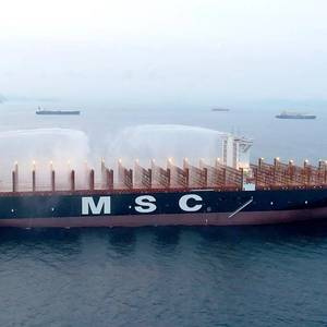 MSC Awarded DNV GL Containership Fire Safety Notation