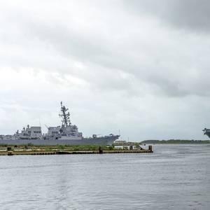 USS Tripoli (LHA 7) Departs Ingalls Shipyard