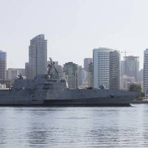 USS Kansas City (LCS 22) Commissioned