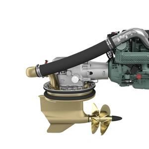 Volvo Penta Debuts New Diesel Engine and IPS