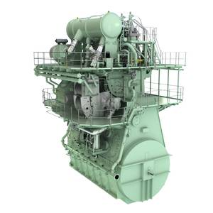 Ship Power: MAN Energy Solutions Unveils New LNG Dual-fuel Engine