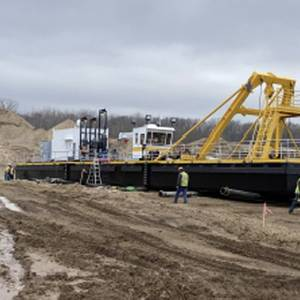 CDW Delivers Dredge for Legacy Materials