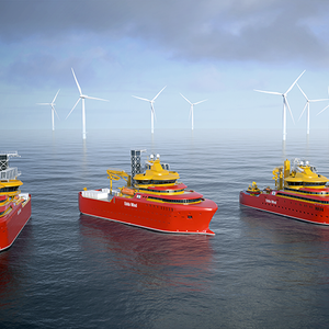 Østensjø Newbuilds to be Equipped with Electric Voith Schneider Propellers