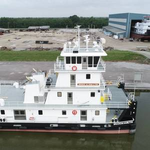 C&C Marine Delivers Towboat to Maritime Partners