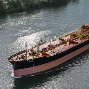 Greenbrier Delivers New Tank Barge to OSG