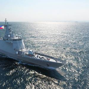 HHI Delivers Philippine Navy Frigate