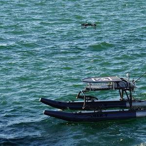 Unmanned Vehicles In, On and Above the Water