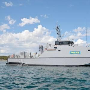 Austal Delivers Palau Patrol Boat