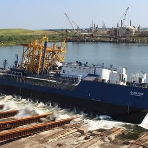 US-flagged LNG Bunker Barge Launched