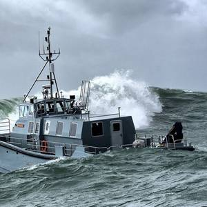 UK's New Naval Survey Ship Passes Sea Trials