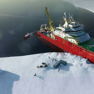 Polar RV Sir David Attenborough Naming Ceremony