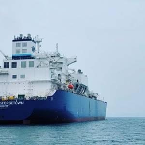 GasLog's New LNG Carrier Starts Sea Trials