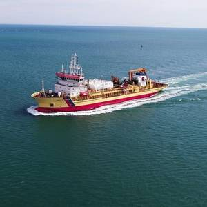 First European Dual-Fuel Dredger Conversion