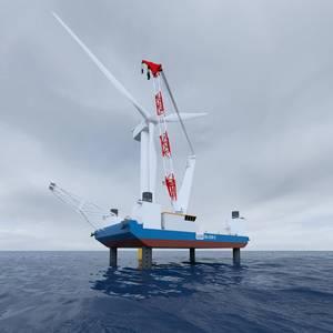 SEA-3250-LT: Innovation in Offshore Wind Installations