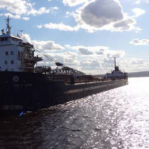 Study Will Examine Effects of Reduced Ice Coverage on Great Lakes Shipping