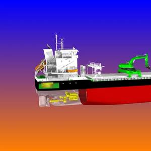 Aasen Orders Hybrid-power Self-discharging Bulkers