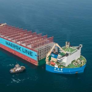 Update: Maersk Honam Heads for Rebuild