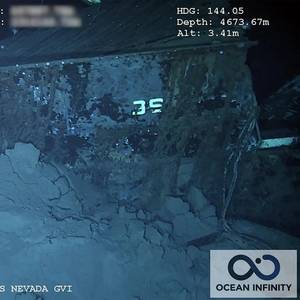 USS Nevada Shipwreck Located