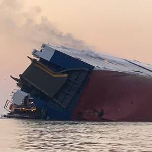 Inaccurate Stability Calculations Caused Golden Ray Capsizing -NTSB
