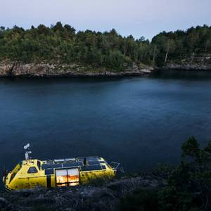 Lifeboat Converted Into Unsinkable Solar-Powered Arctic Excursion Boat