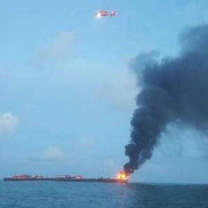Update: Texas Barge Explosion Kills One, Fire Extinguished