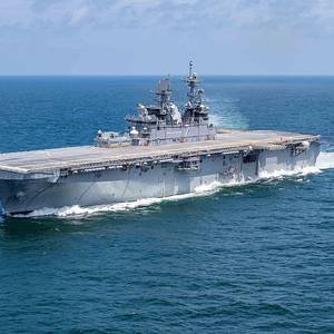 USS Tripoli Delivered
