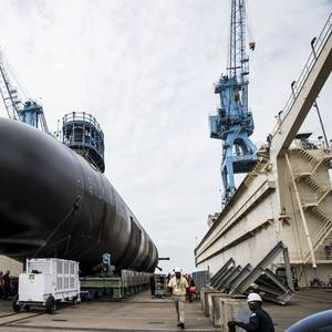 Virginia-Class Submarine Indiana Launched