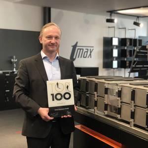 "tmax Honored as ""Top 100' Innovator in Germany"