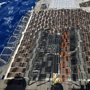 US Navy Seizes Weapons Shipment from Dhow in the Arabian Sea