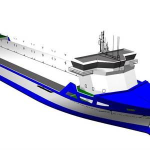 Wärtsilä to Equip LNG-fueled RoLo Newbuilds