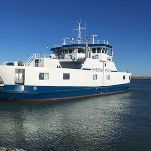 Danfoss Hybrid Electric Ferry Operational